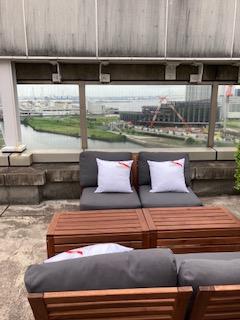 そごう横浜屋上でリフレッシュ