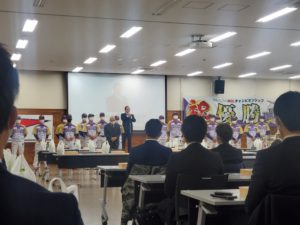 神奈川フューチャードリームスの優勝報告会