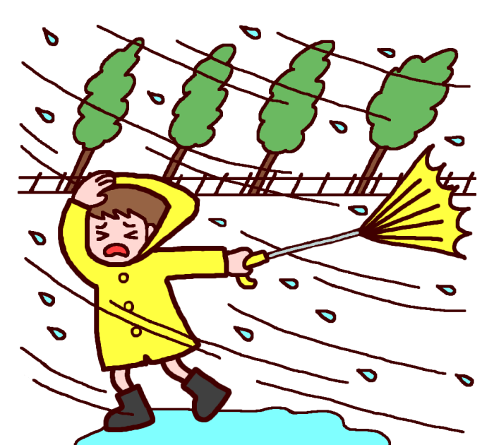 台風に16号にご注意を☔